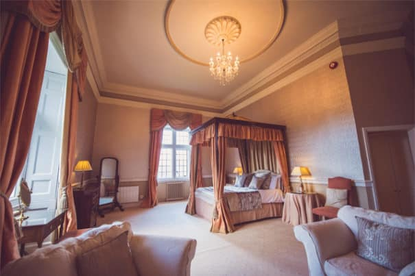 The Gresham Suite at Clearwell Castle