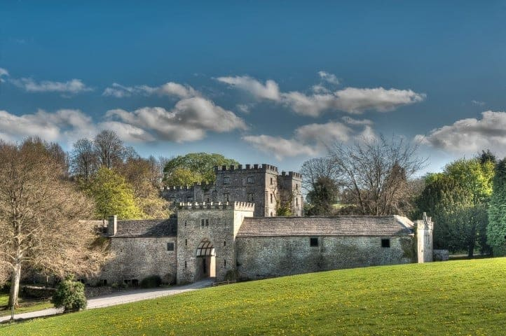 Clearwell Castle in Summer