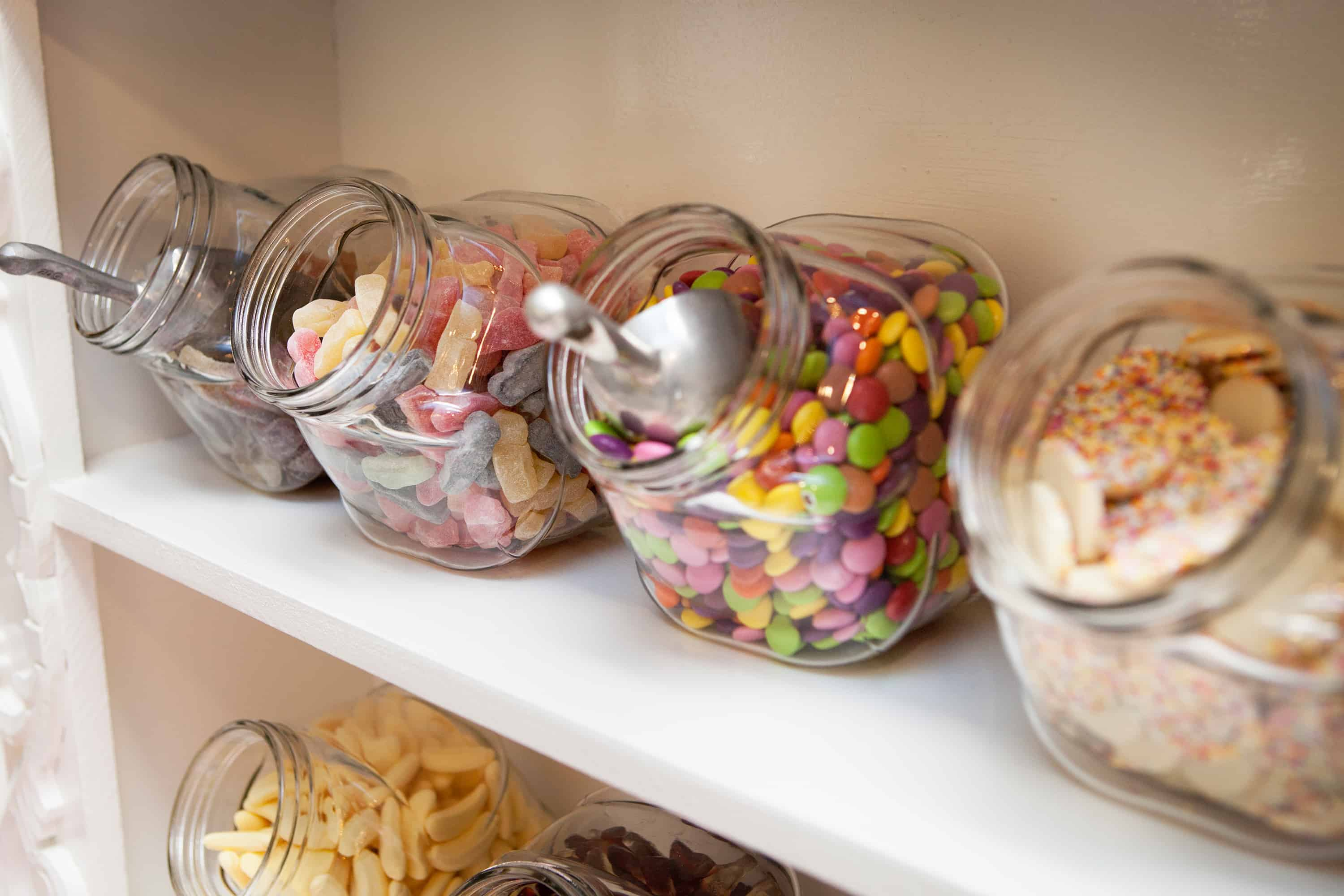 Clearwell Castle - sweets