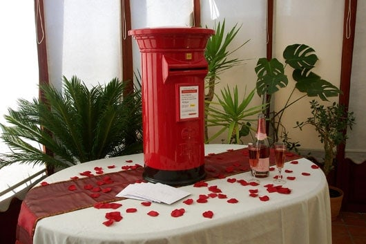 Clearwell Castle - Post Box