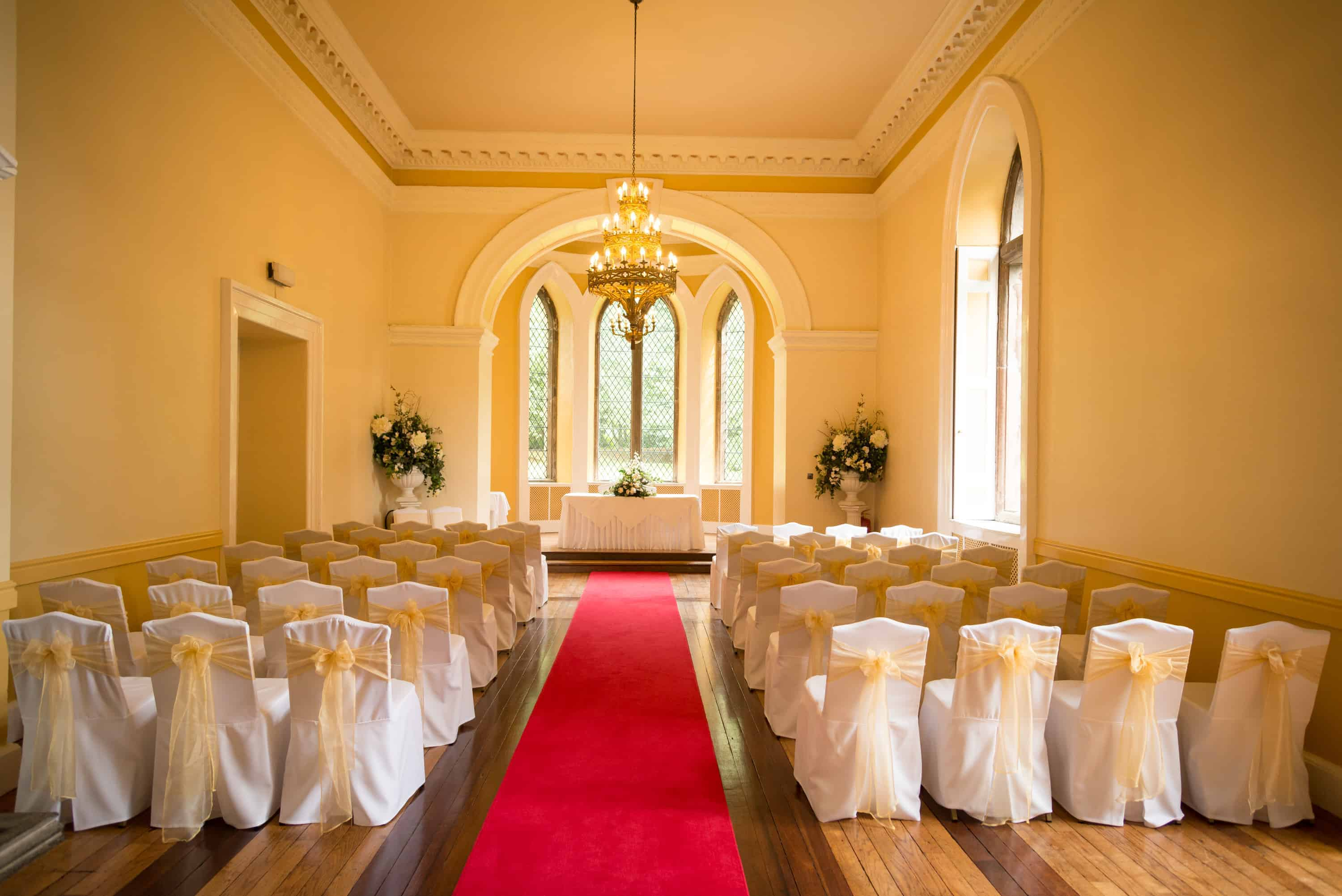 Clearwell Castle - Ceremony