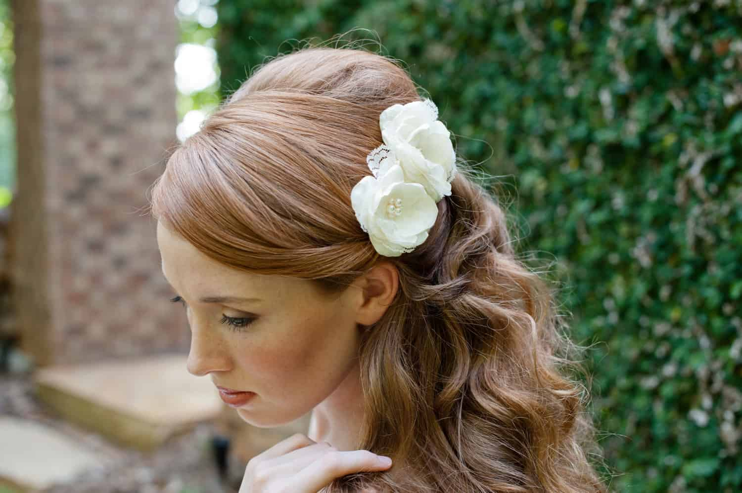 Clearwell Castle - Bridal Hair Flowers