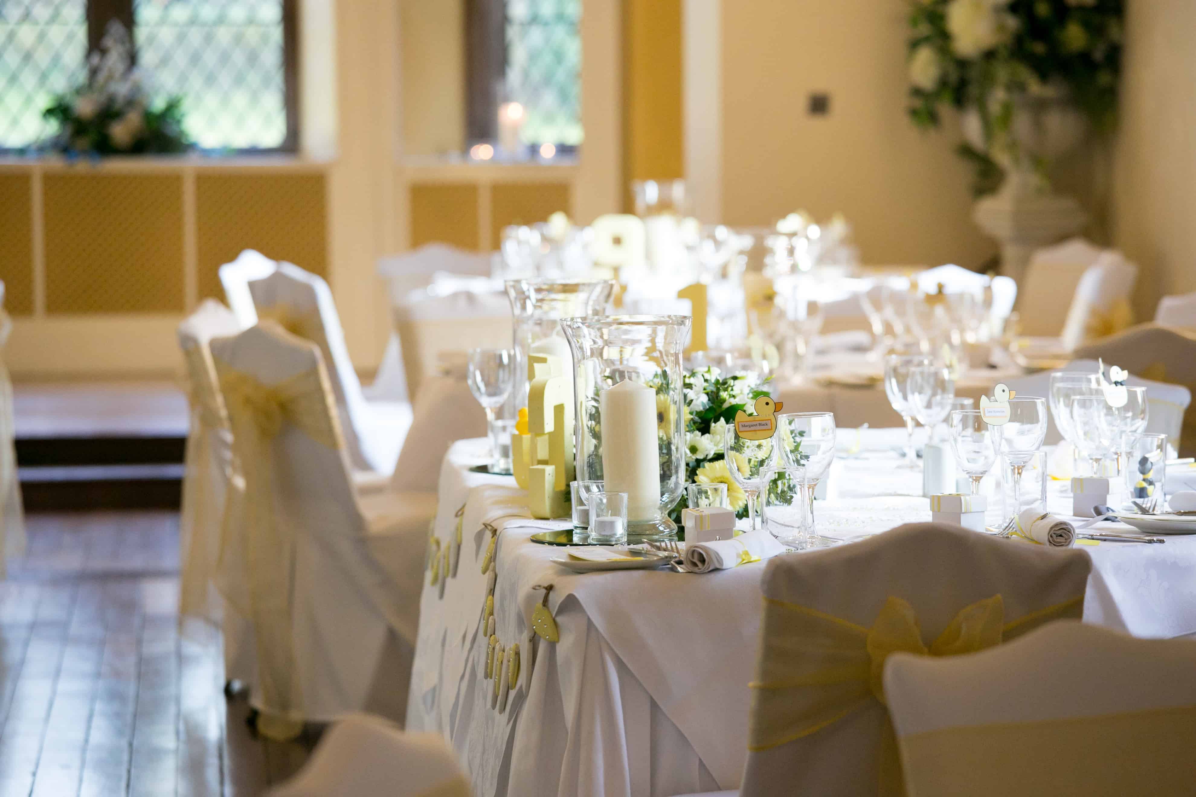 Clearwell Castle - Centrepieces