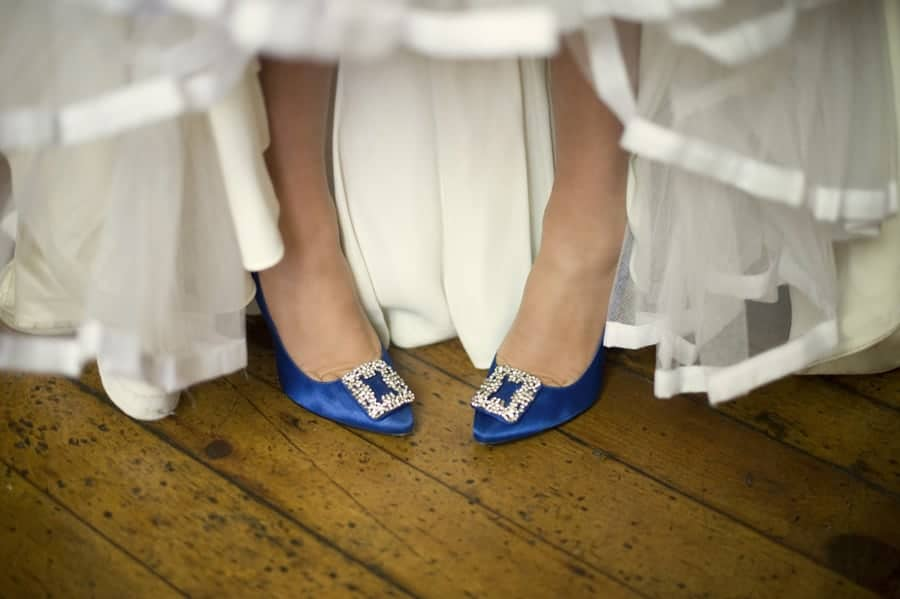 Clearwell Castle - Wedding Shoes