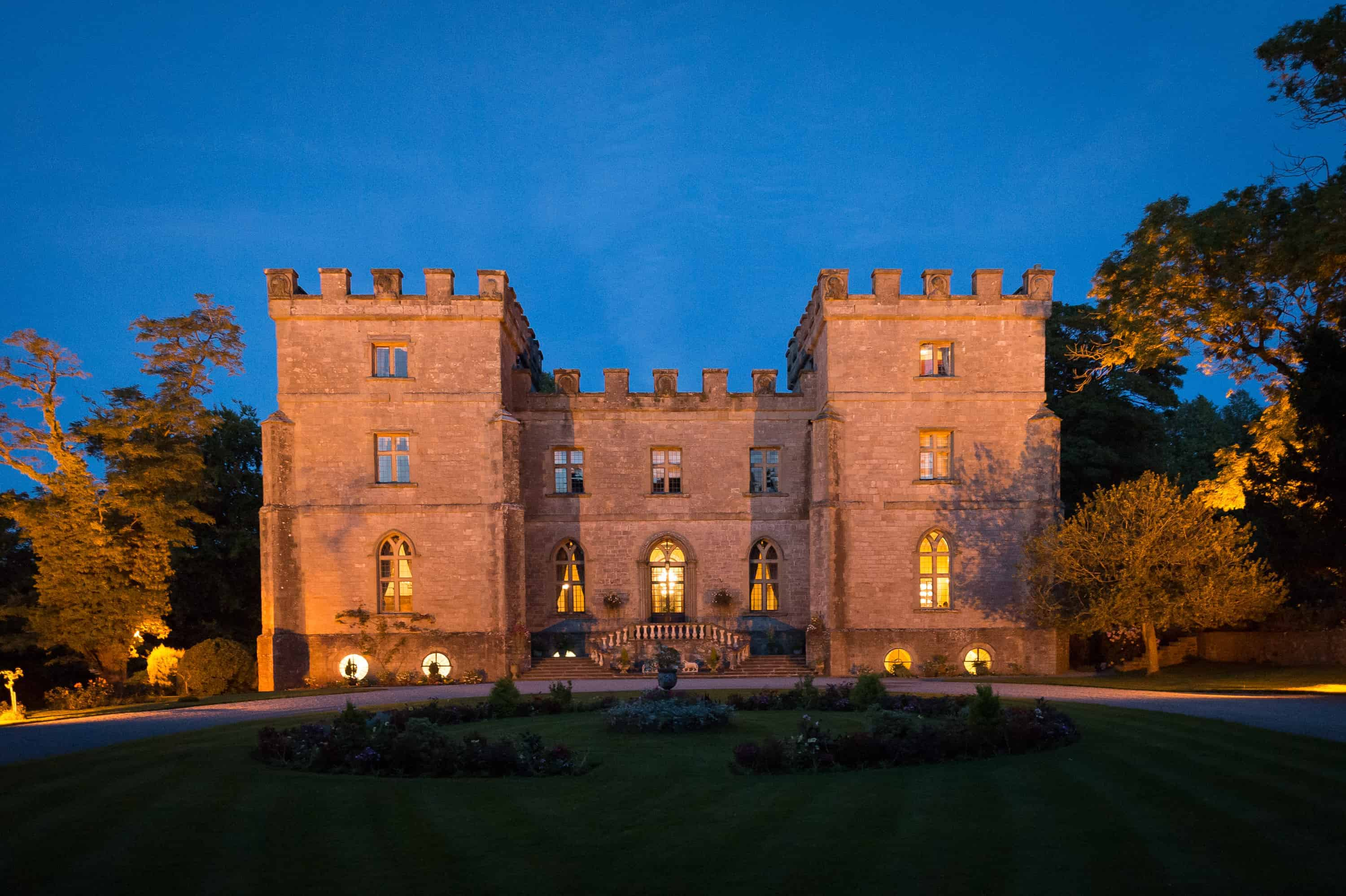 Clearwell Castle - Night Shot