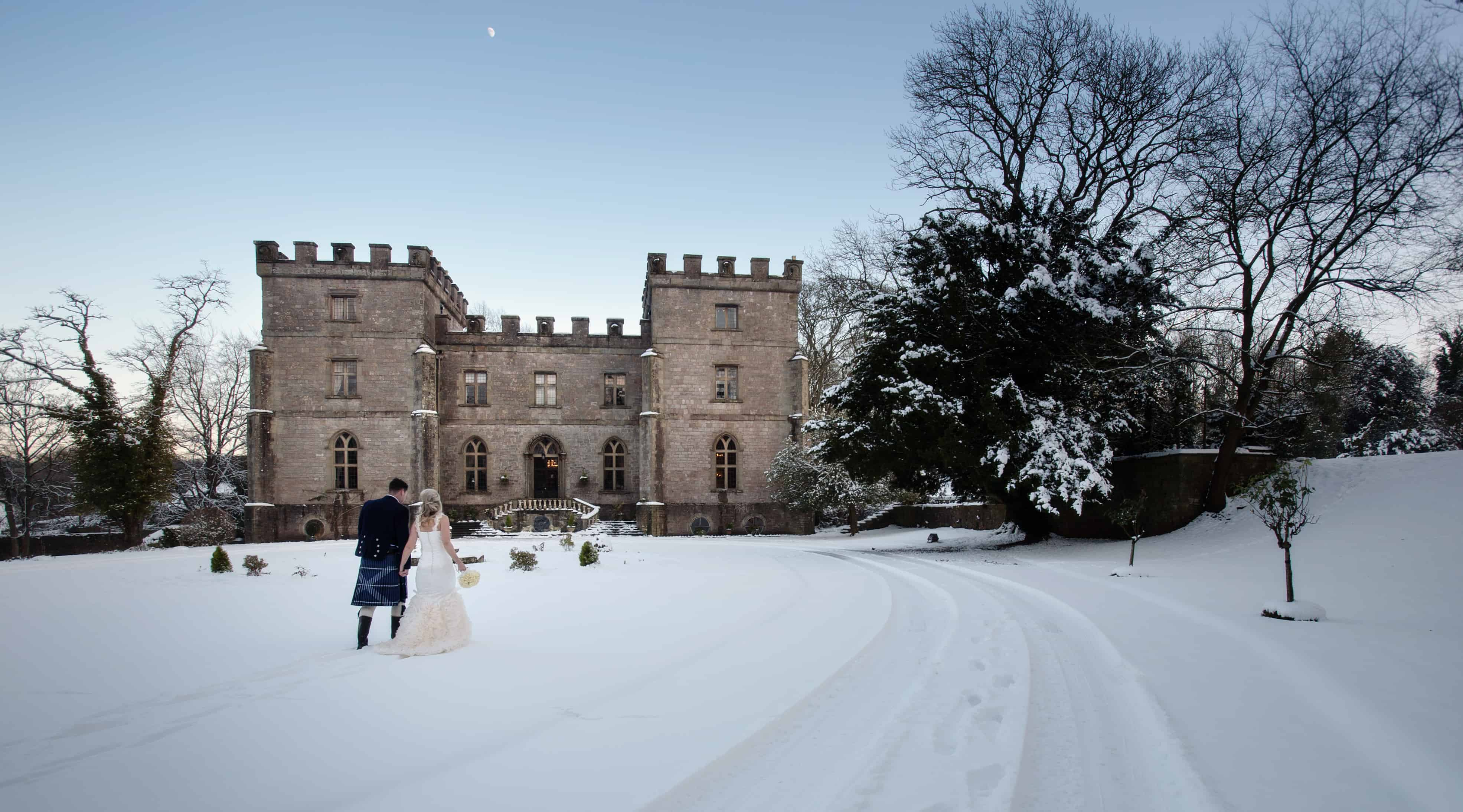 Clearwell Castle - Snow