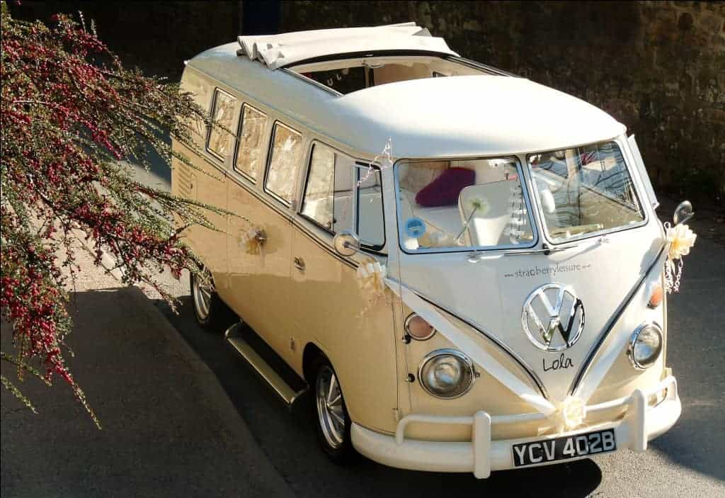 Clearwell Castle - Campervan