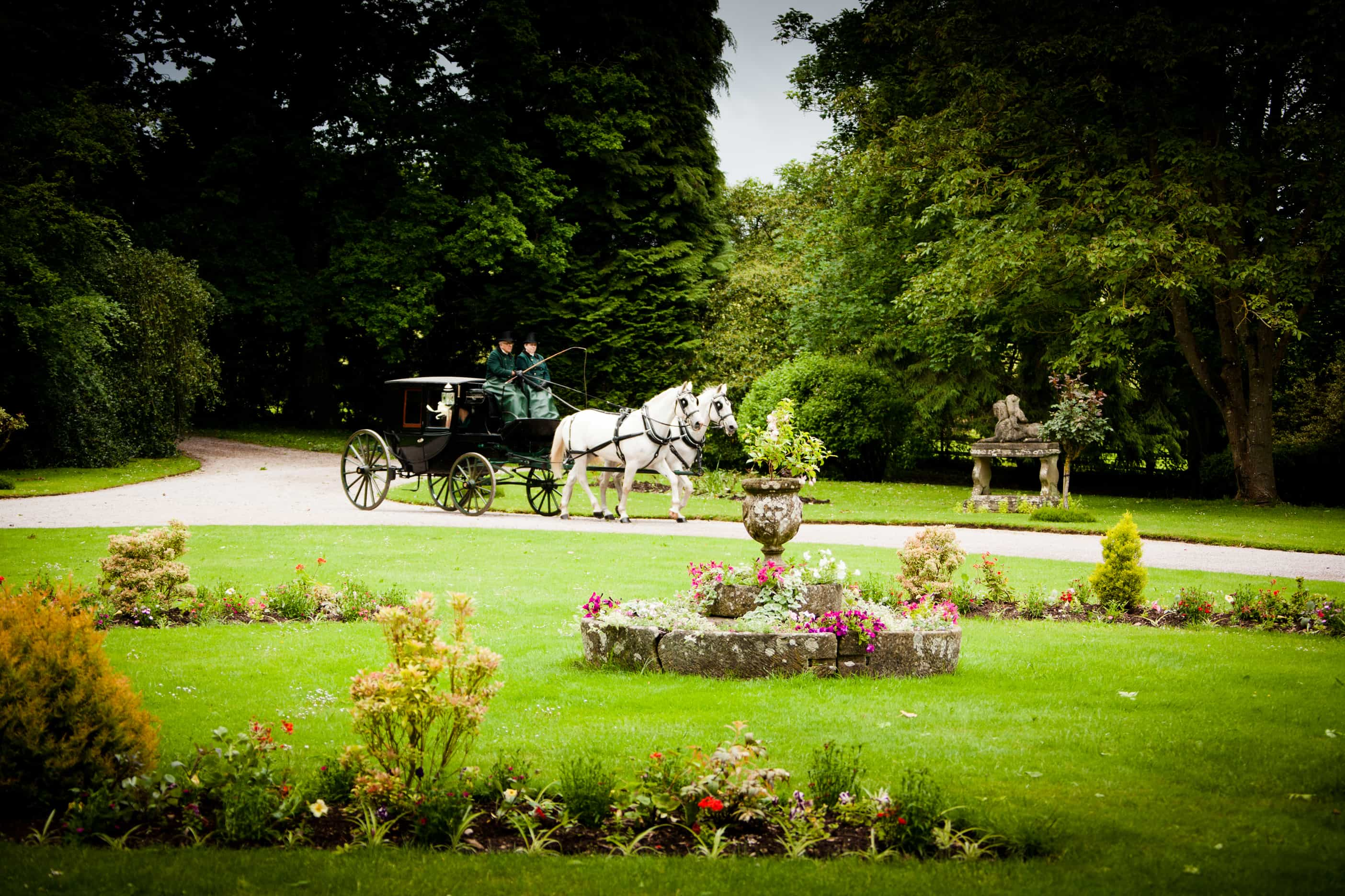 Clearwell Castle - Horse and Carriage