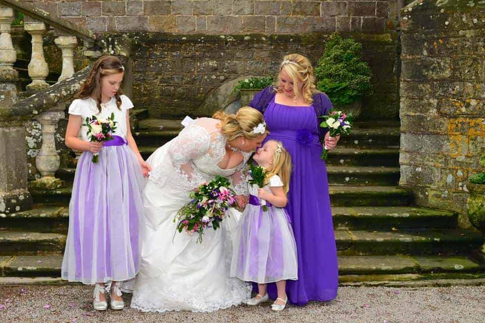 Clearwell Castle - Kim and Bridesmaids