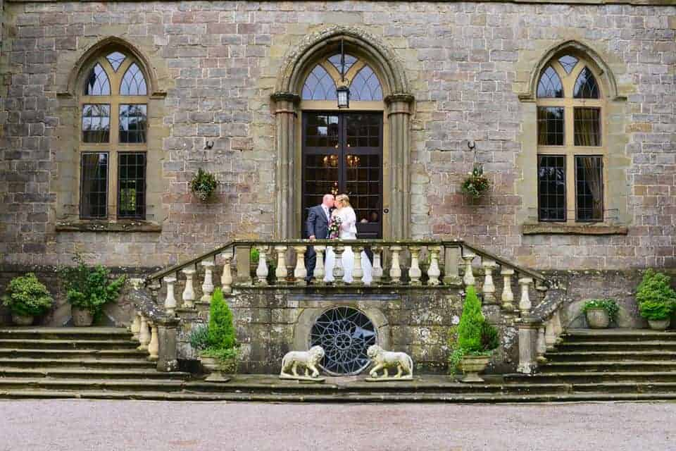 Clearwell Castle - Front Steps