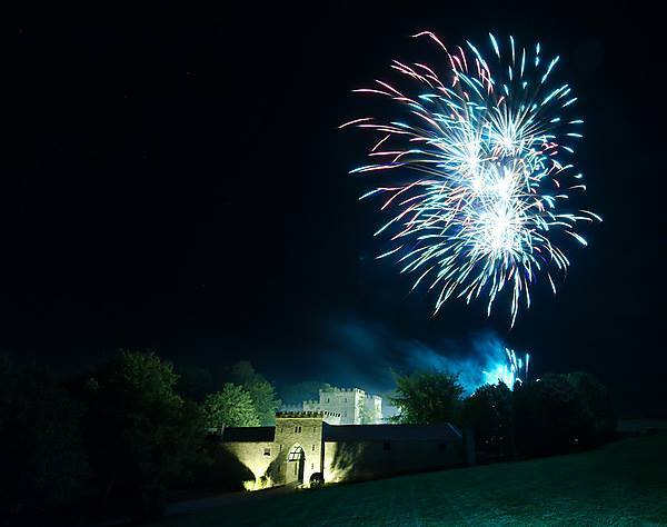 Clearwell Castle Fireworks