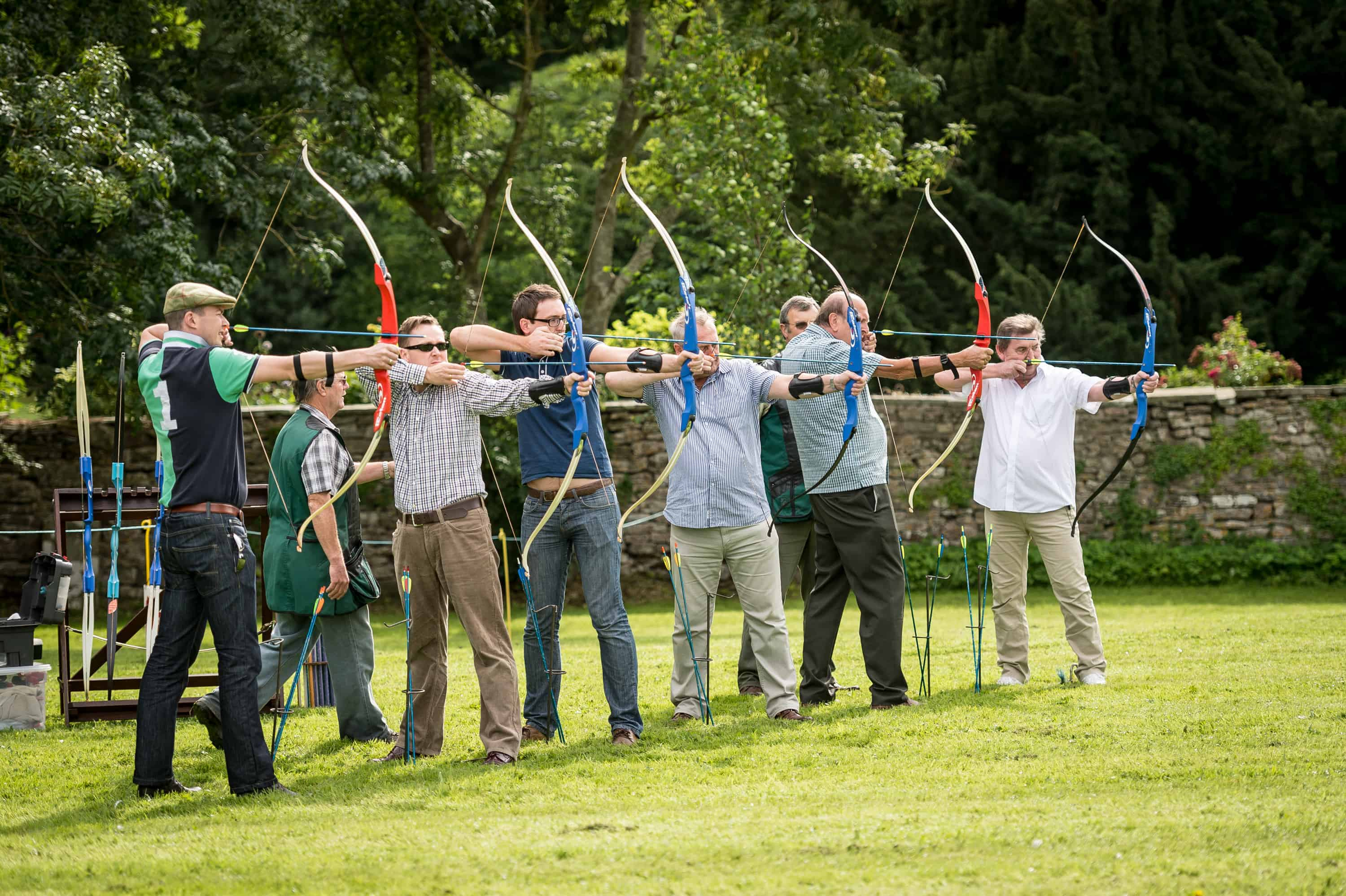 Clearwell Castle - Archery