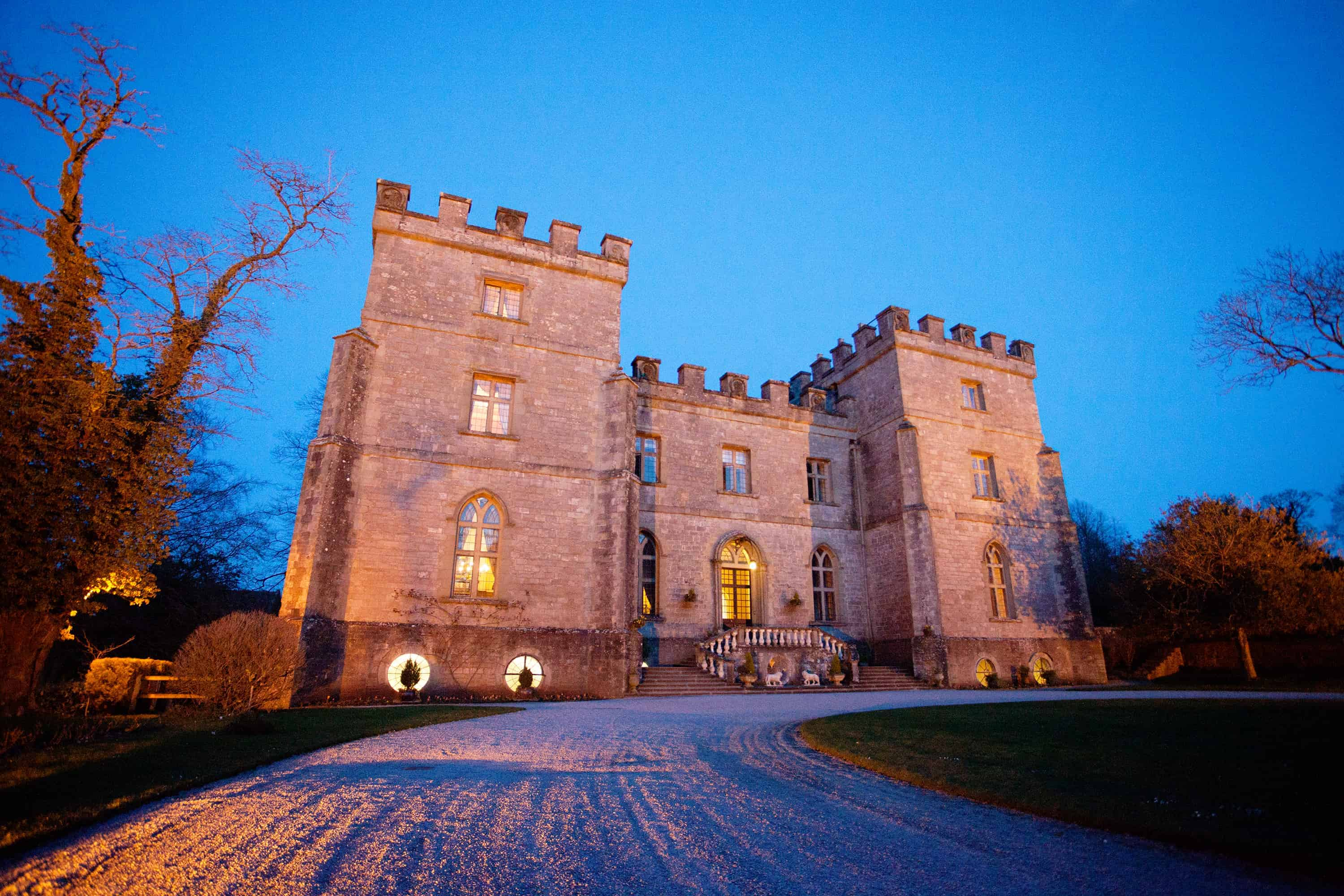 Clearwell Castle - At Night