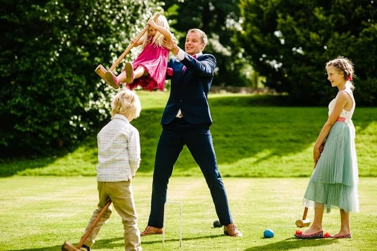 Clearwell Castle - Croquet