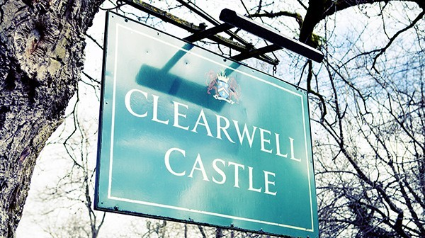 Clearwell castle - Sign