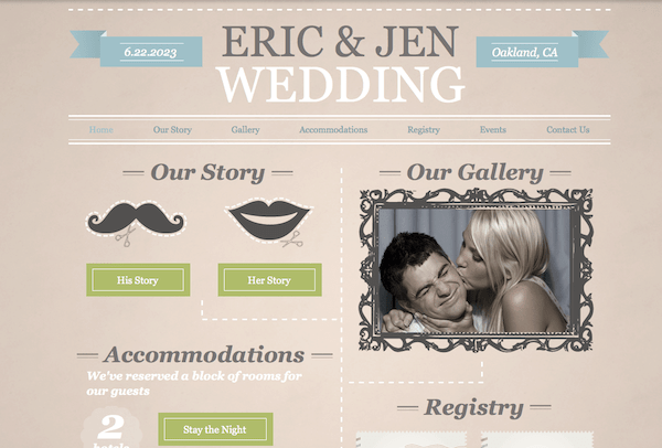 CC - Wedding Website