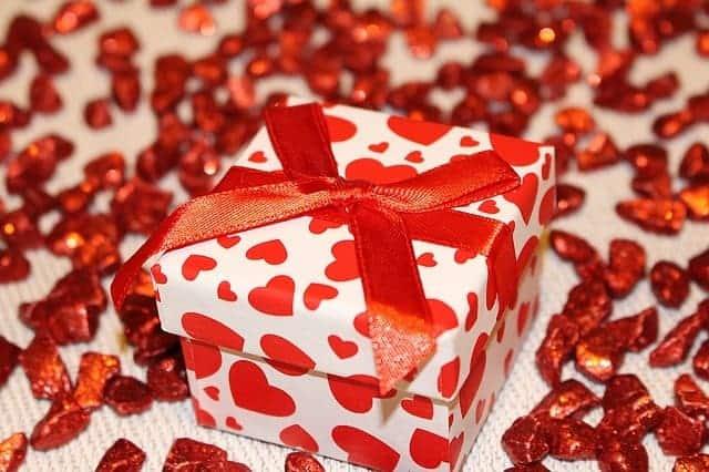 A pretty gift box