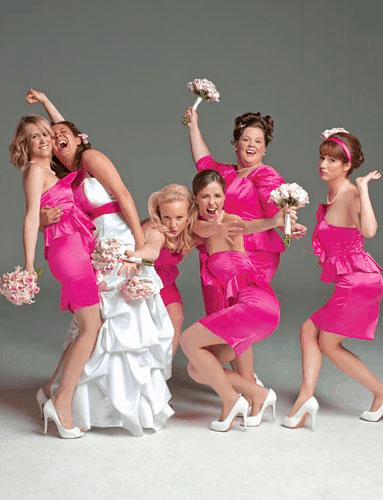 Bridesmaids in the film Bridesmaids