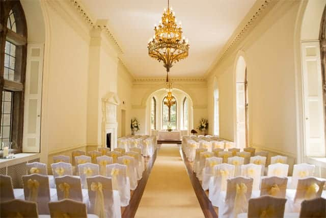Clearwell Castle - Ballroom Ceremony (LM)
