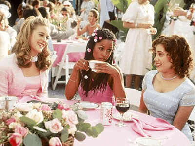 Bridesmaids in Clueless