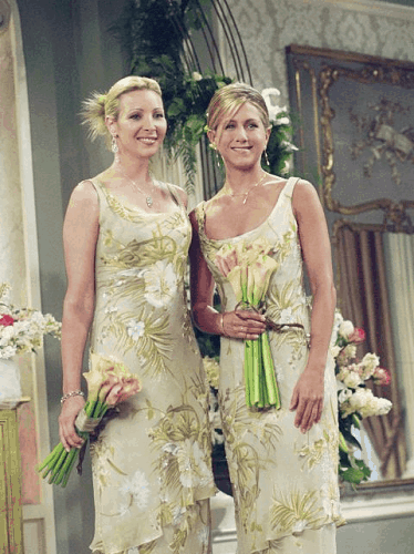 Bridesmaids in Friends