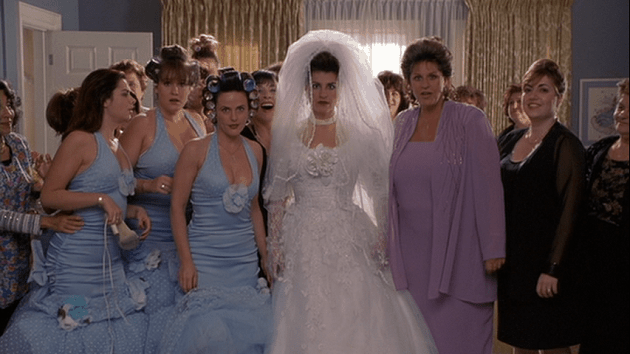 My Big Fat Greek Wedding bridesmaids