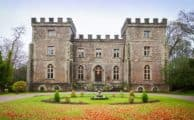 Clearwell Castle in the autumn