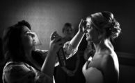 Bride beauty preperation