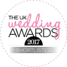 Shortlisted Best Castle Wedding Venue 2017 - UK Wedding Awards