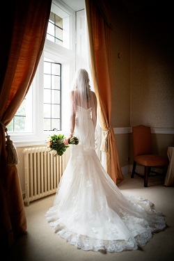 Bride at Clearwell